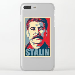 STALIN Clear iPhone Case