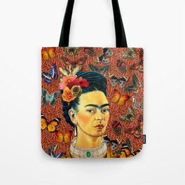 FRIDA bUTTERFLYS Tote Bag