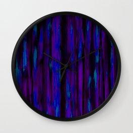 Ultraviolet Wall Clock