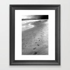 Like Sands Through The Hourglass Framed Art Print