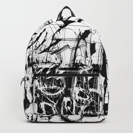 Drained - b&w Backpack
