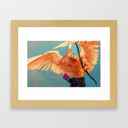 is this wings oh my god i HATE MAGIC Framed Art Print