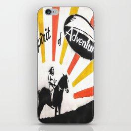 spirit of adventure iPhone Skin