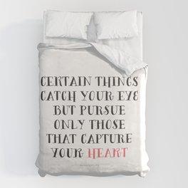 Heart Captured Duvet Cover