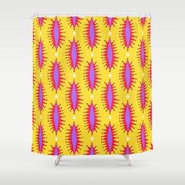Cosmic Roar Pattern Shower Curtain
