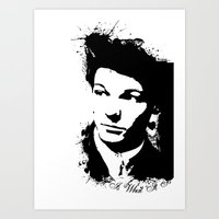 louis tomlinson Art Prints featuring Louis Tomlinson by Aki-anyway