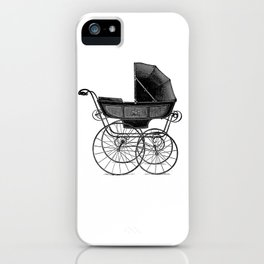 Baby carriage iPhone Case