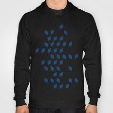 rhombus bomb in monaco blue Hoody