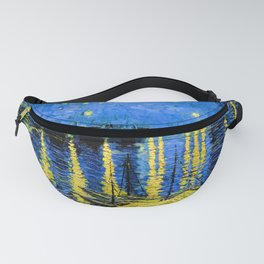 Van Gogh Starry Night Over the Rhone Fanny Pack