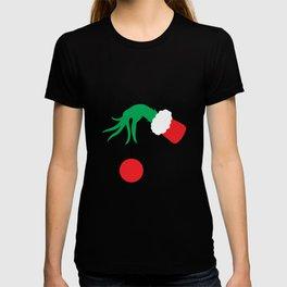 Grinch Hand Tree T-shirt