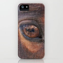 Horse Eye iPhone Case