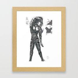 Fantasia - Remix [Pen, Pencil and Digital] Framed Art Print