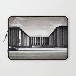 THE STREET OF WARSAW Laptop Sleeve