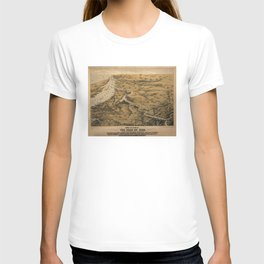 Vintage Virginia & Maryland Civil War Map (1861) T-shirt