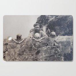 WW2 Skull & Bones Cutting Board