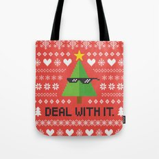 Deal with It. Tote Bag