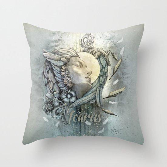 Icarus Throw Pillow