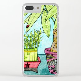 Luck & Fortune Clear iPhone Case
