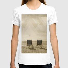 Sunchairs on the beach T-shirt
