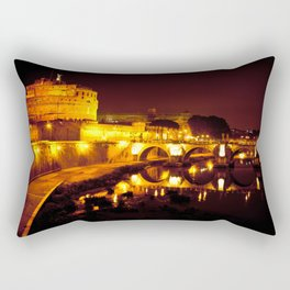 Castel sant'angelo Roma Rectangular Pillow