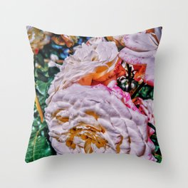 Proof of life Throw Pillow