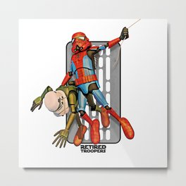 Spider Trooper Metal Print