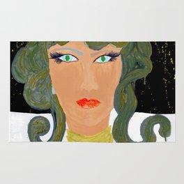 Money Green Medusa, She Rug