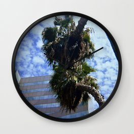 DT Trees Wall Clock