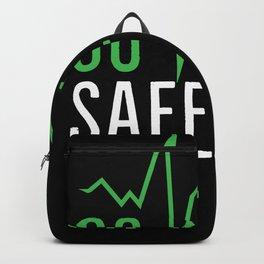 Go Vegan Safe Life | Veganism Gift Idea Backpack