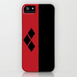 Two Sides of Harley Quinn iPhone Case