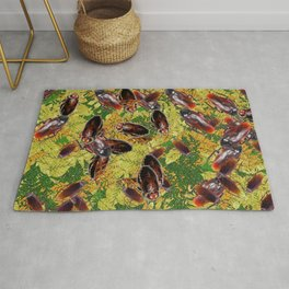 Cockroaches Rug