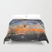 louis Duvet Covers featuring St Louis by Robin Curtiss