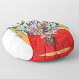 Garden Floor Pillow