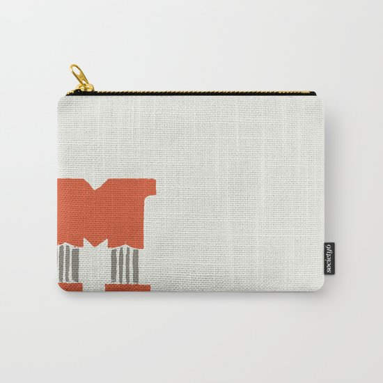 M Lettering Carry-All Pouch