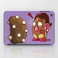 potato iPad Cases featuring Potato Potaato by Artistic Dyslexia
