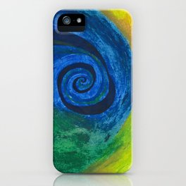 Abstract Poetic iPhone Case