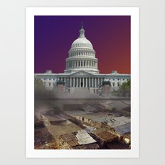 There's Congress and then there's Us Art Print