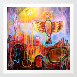 'Show me the Way' - Trust in the path before you.... Art Print