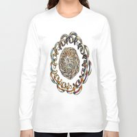 hook Long Sleeve T-shirts featuring Hook Rings by Brian Raggatt