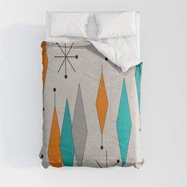 Mid-Century Modern Diamond Pattern Comforters