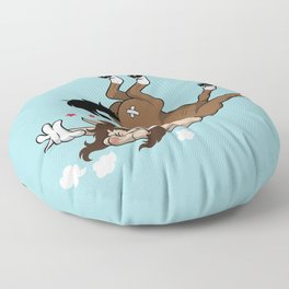 Clumsy Centaur Floor Pillow