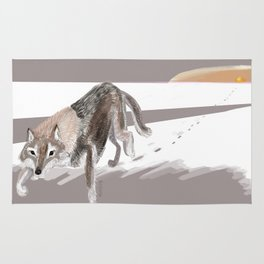 Wolves of the World: Russian Wolf (Canis lupus communis) (c) 2017 Rug