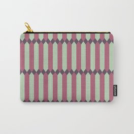 Panes - Mauve Carry-All Pouch