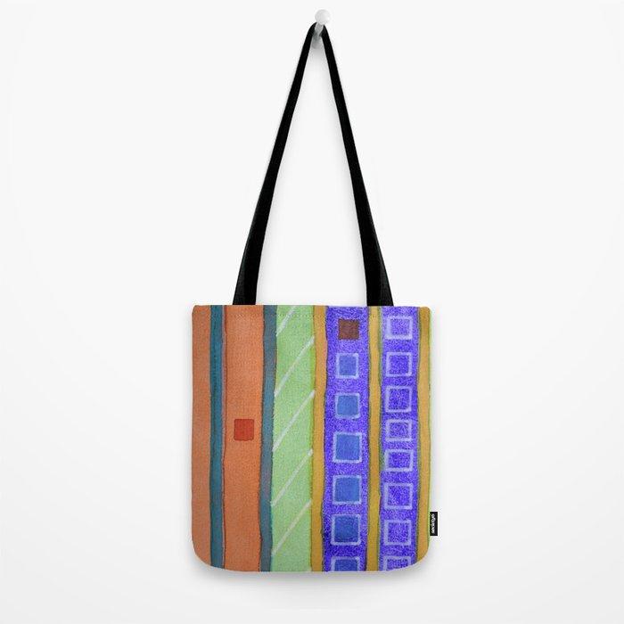 Modern Building Facade Tote Bag