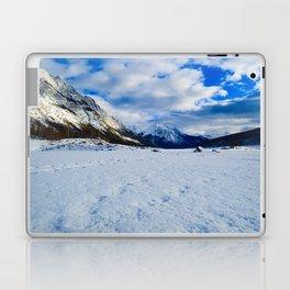 Medicine Lake in Jasper National Park, Canada Laptop & iPad Skin