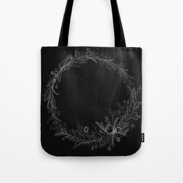 Wreaths Are The New Black Tote Bag