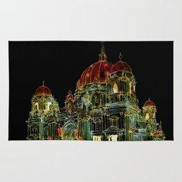 Berlin Cathedral at Night Rug