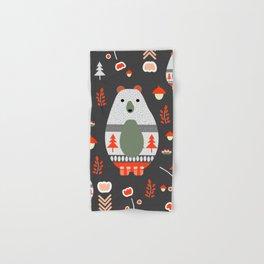 Christmas bears and birds Hand & Bath Towel