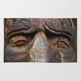 Wise men are made of wood Rug