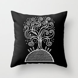 The Rite of Spring Throw Pillow